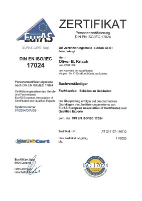 EurAS Zertifikat krisch