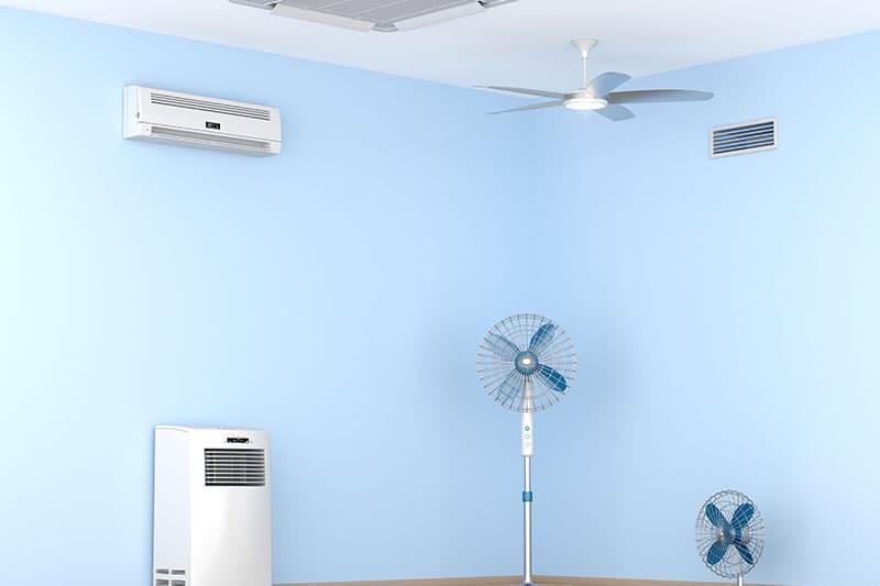 klimaanlagen desinfektion und wartung