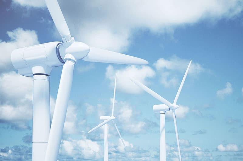 Schimmelbeseitigung bei Windkraftanlage
