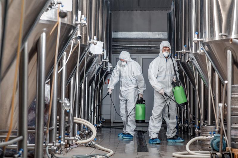 Industrie Reinigung und Desinfektion