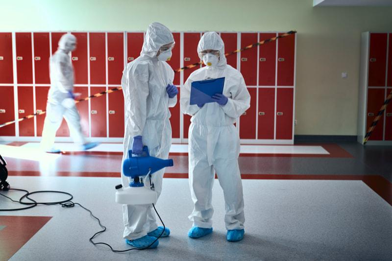 Desinfektion und Hygiene in Schulen, Universitäten und Bibliotheken